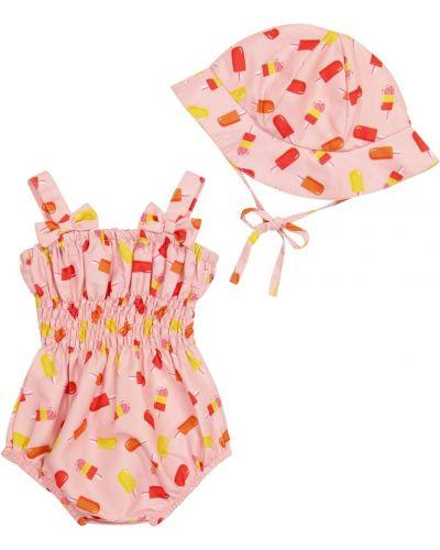 Różowy strój kąpielowy Rachel Riley