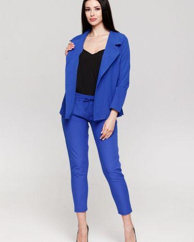 Брючный костюм синий Karree