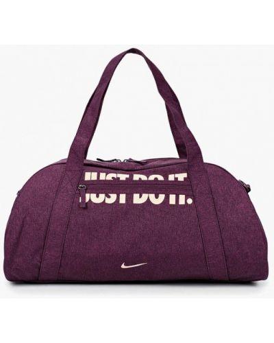 Фиолетовая спортивная сумка Nike