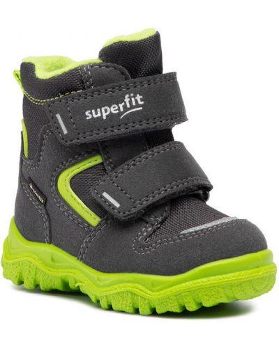 Zielone sneakersy Superfit