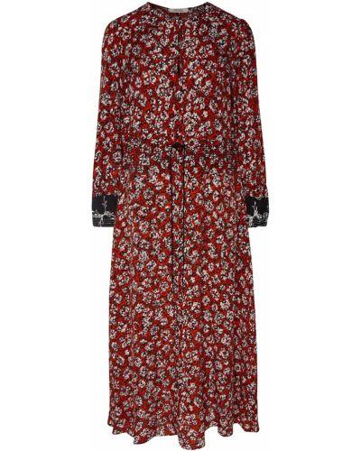 Платье макси с цветочным принтом на резинке Dorothee Schumacher