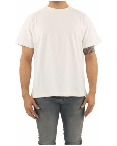 Biały t-shirt Flaneur Homme