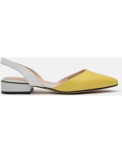 Туфли - желтые Marino Rozitelli