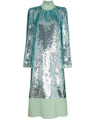 Платье миди с пайетками макси Tibi