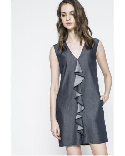 Джинсовое платье мини однотонное Trussardi Jeans