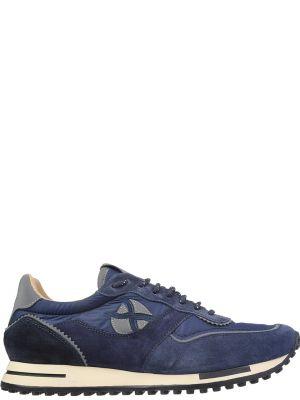Текстильные кроссовки - синие Brimarts