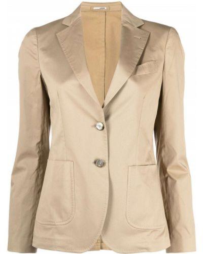 Однобортный классический пиджак с карманами на пуговицах Lardini