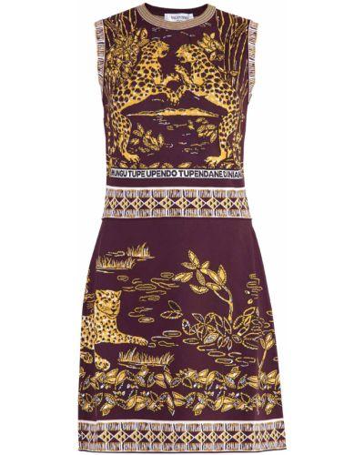 Платье тюльпан трикотажное Valentino