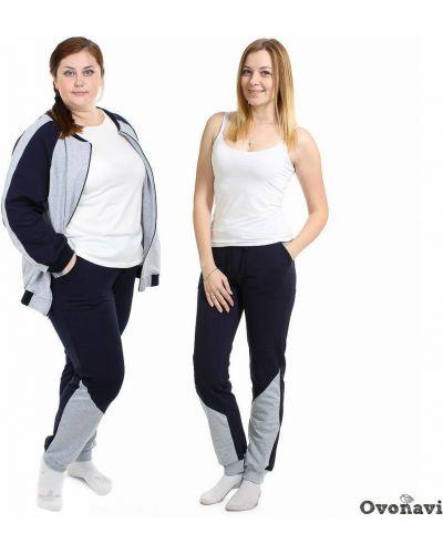 Спортивные брюки на резинке с карманами Грандсток