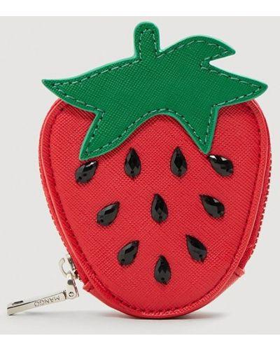 Красный кошелек Mango
