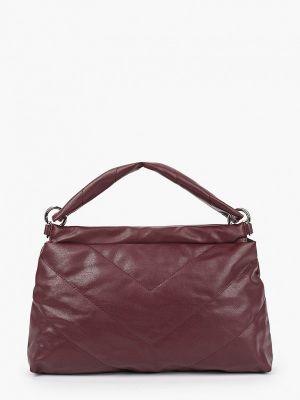Кожаная сумка - бордовая Keddo