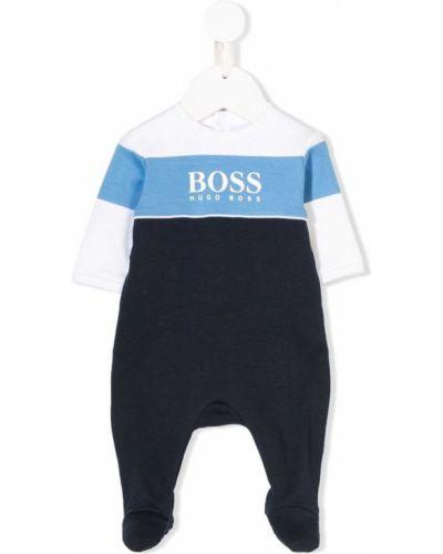 Kombinezon z długimi rękawami - biały Boss Kidswear