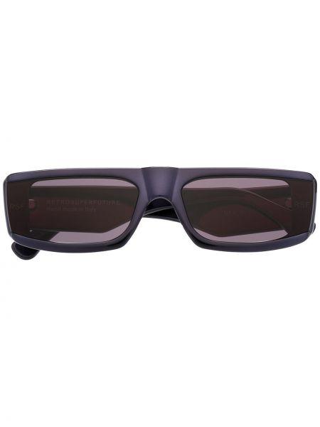 Черные солнцезащитные очки квадратные Retrosuperfuture