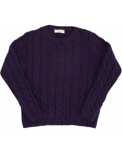 Fioletowy sweter Vicolo