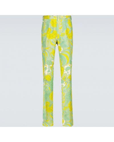 Прямые брюки из вискозы Tom Ford