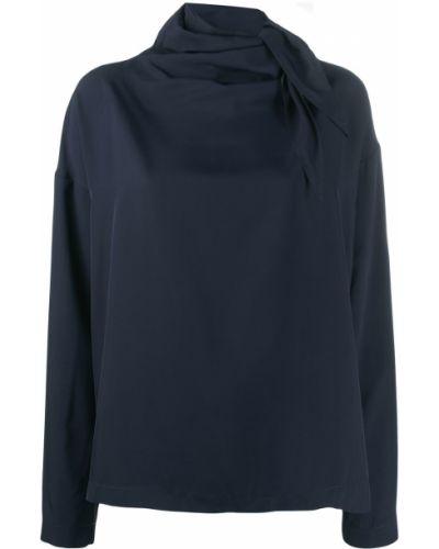 Блузка с длинным рукавом в полоску батник Cedric Charlier