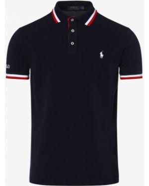 T-shirt sportowy z paskami w paski Polo Ralph Lauren