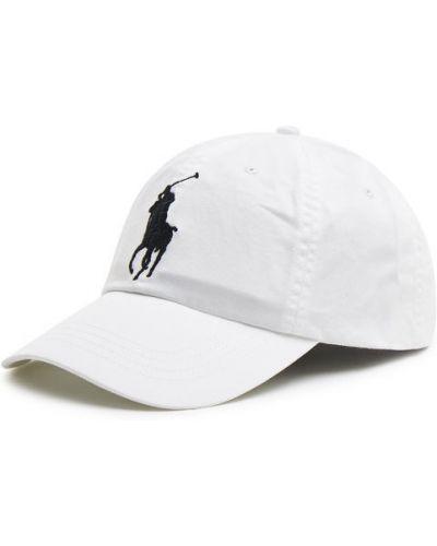 Klasyczna biała czapka Polo Ralph Lauren