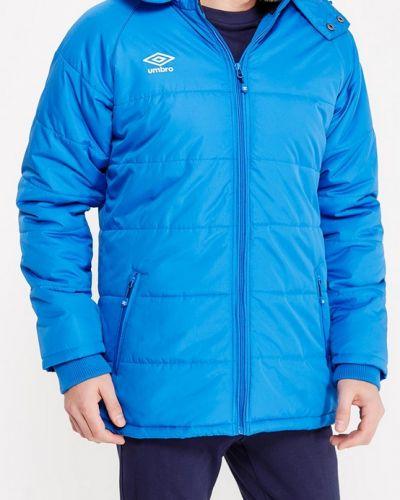 Утепленная куртка с капюшоном трикотажная Umbro