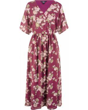 Платье макси фиолетовый Bonprix