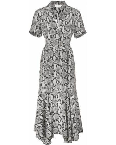 Платье мини на пуговицах с V-образным вырезом Alc