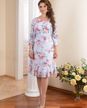 Летнее платье на пуговицах с цветочным принтом Salvi-s