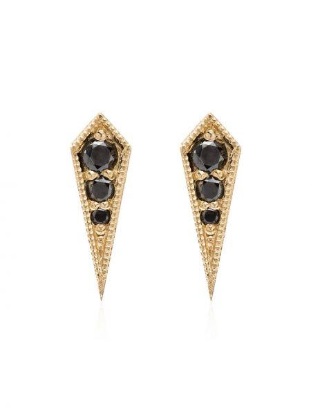 Серьги-гвоздики Lizzie Mandler Fine Jewelry