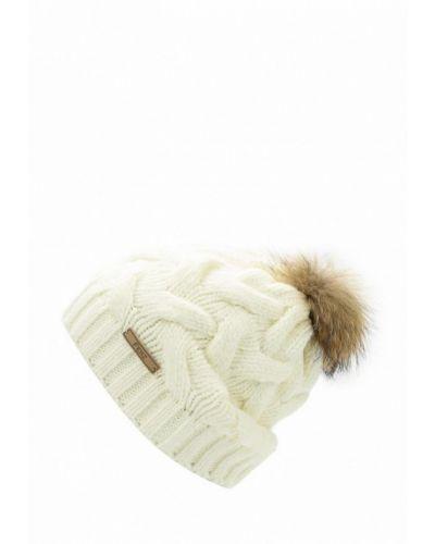 Белая шапка осенняя Ferz