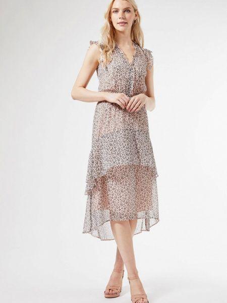 Бежевое платье Dorothy Perkins