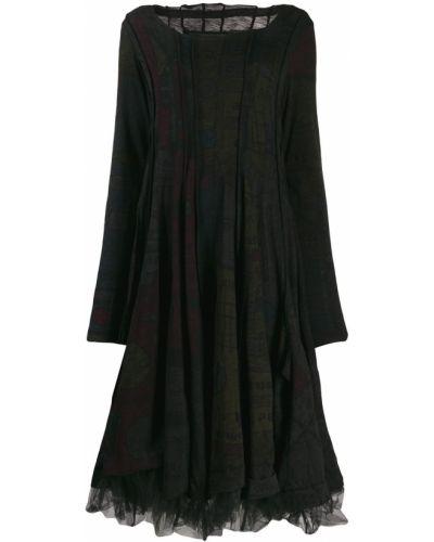 Платье макси сетчатое Rundholz Black Label