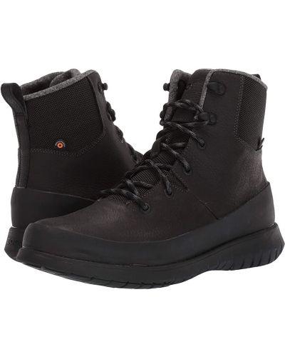 Ботинки на шнуровке - серые Bogs