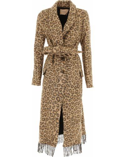 Płaszcz bawełniany z długimi rękawami Twin Set By Simona Barberi