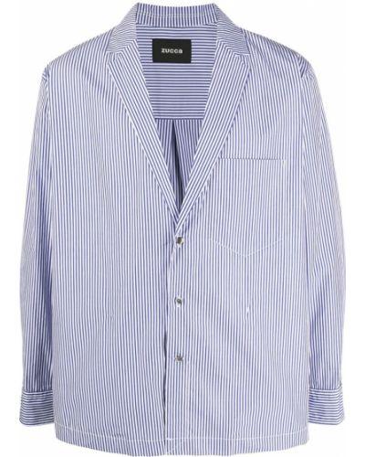Пиджак длинный - синий Zucca