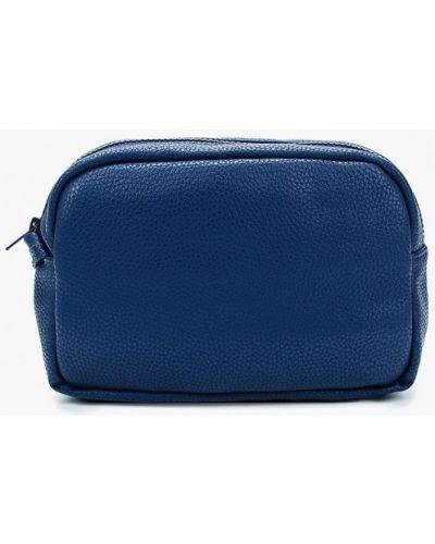 Кожаная сумка - синяя Kawaii Factory