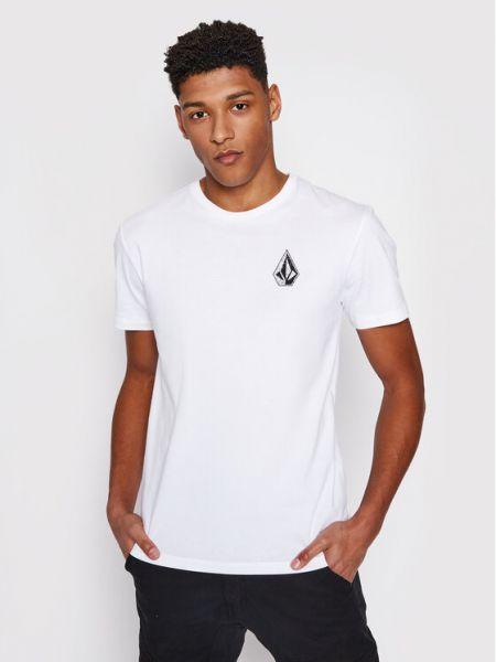 Biała t-shirt Volcom