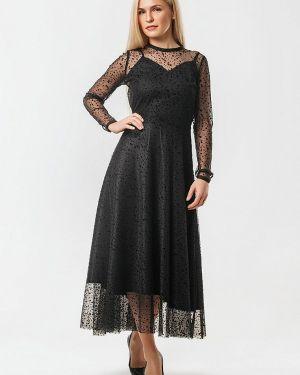 Черное вечернее платье Ornato