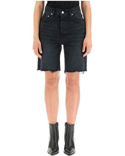 Czarne jeansy Agolde