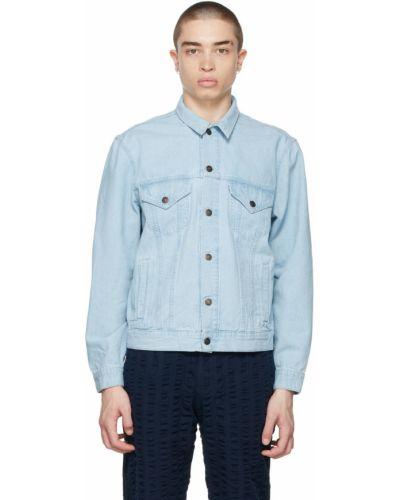 Белая джинсовая куртка с воротником Levi's Vintage Clothing