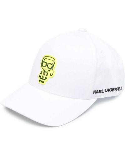Bawełna baseball bawełna czapka baseballowa Karl Lagerfeld