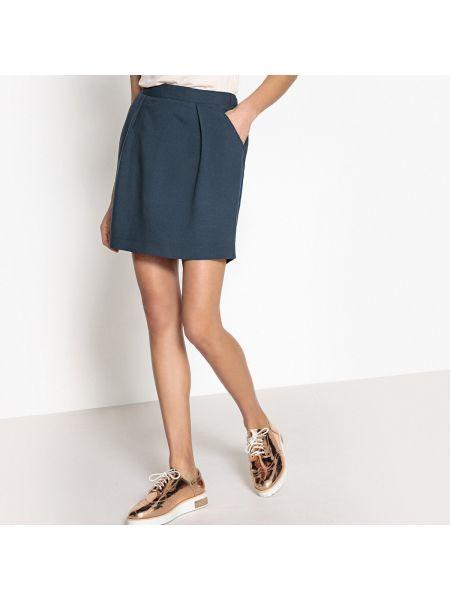 Укороченная юбка мини - синяя Best Mountain