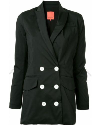 Черный приталенный пиджак Manning Cartell