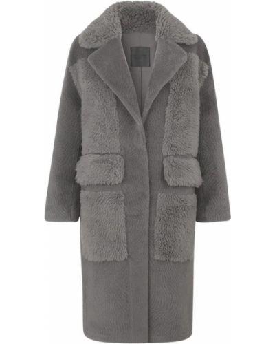 Ciepły płaszcz skórzany Ravn