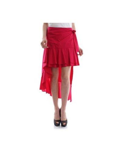 Fioletowa spódniczka mini Pinko