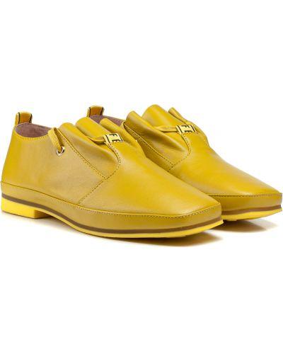 Оксфорды - желтые Sufinna