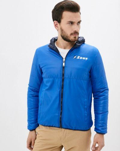 Утепленная куртка - синяя Zeus