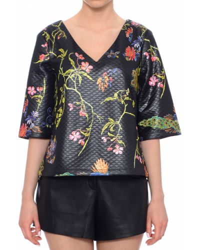 Блузка черная весенний Anonyme