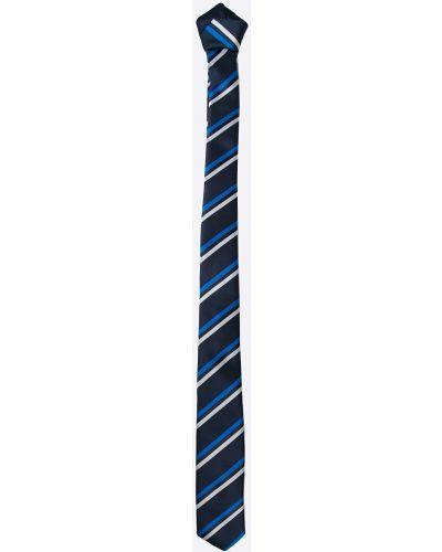 Галстук-бабочка с узором темно-синий Selected