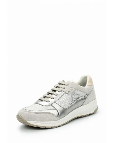 Бежевые кроссовки Geox