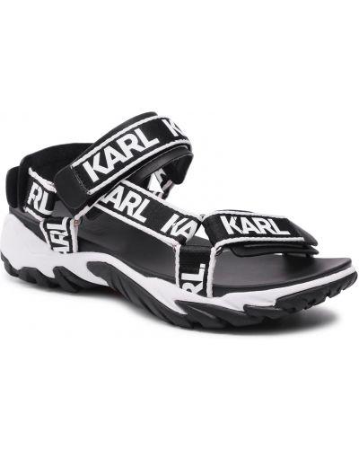 Sandały - białe Karl Lagerfeld