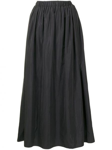 Z wysokim stanem czarny spódnica maxi Tibi